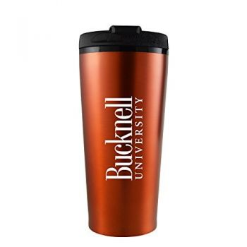 Bucknell University -16 oz. Travel Mug Tumbler-Orange