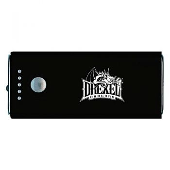 Drexel University -Portable Cell Phone 5200 mAh Power Bank Charger -Black