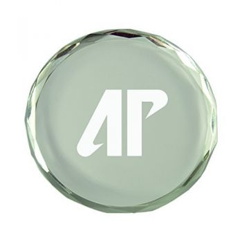 Austin Peay State University-Crystal Paper Weight