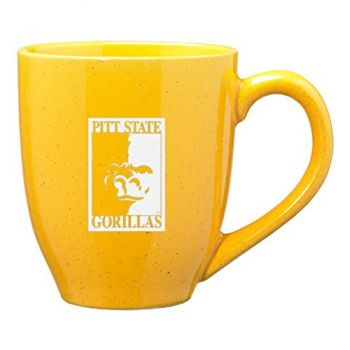 Pittsburg State University - 16-ounce Ceramic Coffee Mug - Gold