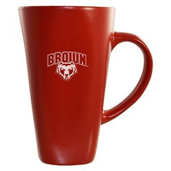 Brown University -16 oz. Tall Ceramic Coffee Mug-Red