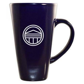 Longwood University-16 oz. Tall Ceramic Coffee Mug-Blue