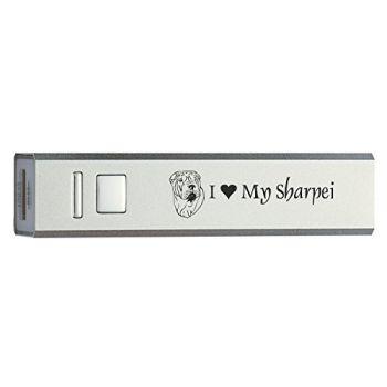 Quick Charge Portable Power Bank 2600 mAh  - I Love My Sharpei