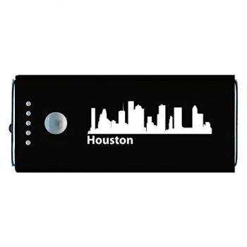 Houston, Texas-Portable Cell Phone 5200 mAh Power Bank Charger-Black