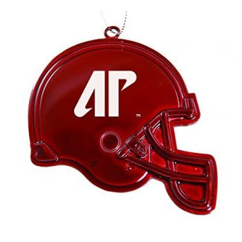 Austin Peay State University - Chirstmas Holiday Football Helmet Ornament - Red