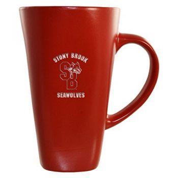 Stony Brook University -16 oz. Tall Ceramic Coffee Mug-Red