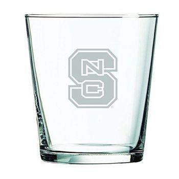 North Carolina State University -13 oz. Rocks Glass