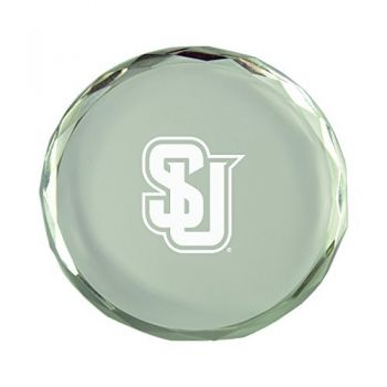 Seattle University-Crystal Paper Weight