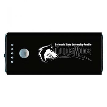 California State University, Pueblo-Portable Cell Phone 5200 mAh Power Bank Charger -Black