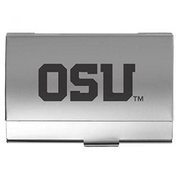 Oregon State University - Wave Key Tag - Black