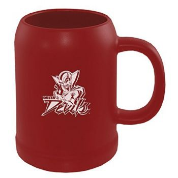 Mississippi Valley State University -22 oz. Ceramic Stein Coffee Mug-Red
