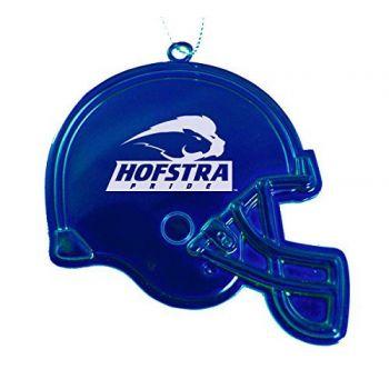 Hofstra University - Christmas Holiday Football Helmet Ornament - Blue