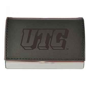 Velour Business Cardholder-University of Tennessee at Chattanooga-Black