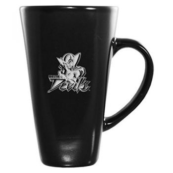 Mississippi Valley State University -16 oz. Tall Ceramic Coffee Mug-Black