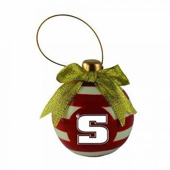 Slippery Rock University -Christmas Bulb Ornament