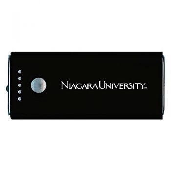 Niagara University -Portable Cell Phone 5200 mAh Power Bank Charger -Black