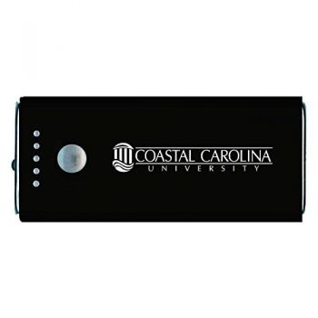 Coastal Carolina University -Portable Cell Phone 5200 mAh Power Bank Charger -Black