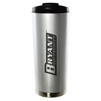 Bryant University-16oz. Stainless Steel Vacuum Insulated Travel Mug Tumbler-Silver