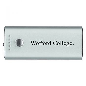 Wofford College-Portable Cell Phone 5200 mAh Power Bank Charger -Silver