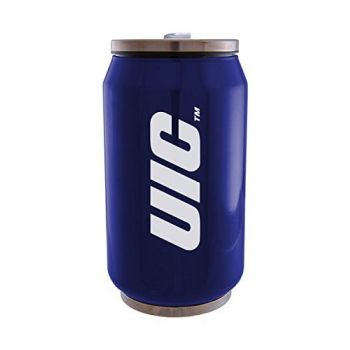 University of Illinois at Chicago - Stainless Steel Tailgate Can - Blue