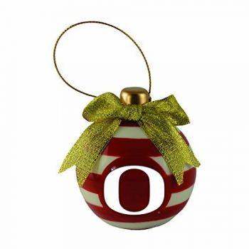 University of Oregon -Christmas Bulb Ornament