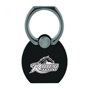 Rider University|Multi-Functional Phone Stand Tech Ring|Black