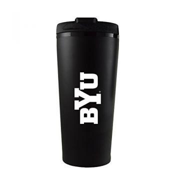Brigham Young University -16 oz. Travel Mug Tumbler-Black