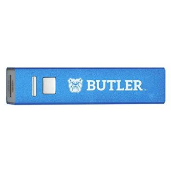 Butler University - Portable Cell Phone 2600 mAh Power Bank Charger - Blue