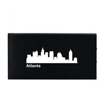 Quick Charge Portable Power Bank 8000 mAh - Atlanta City Skyline