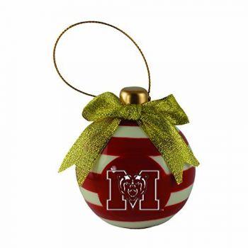 Mercer University -Christmas Bulb Ornament