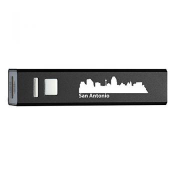 Quick Charge Portable Power Bank 2600 mAh - San Antonio City Skyline