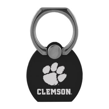 Clemson University|Multi-Functional Phone Stand Tech Ring|Black