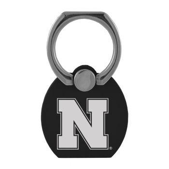 University of Nebraska|Multi-Functional Phone Stand Tech Ring|Black