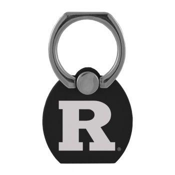 Rutgers University|Multi-Functional Phone Stand Tech Ring|Black