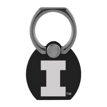 University of Illinois |Multi-Functional Phone Stand Tech Ring|Black