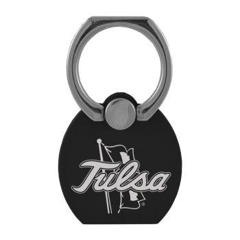 University of Tulsa|Multi-Functional Phone Stand Tech Ring|Black