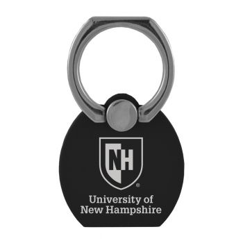 University of New Hampshire|Multi-Functional Phone Stand Tech Ring|Black