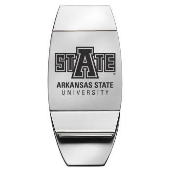 Arkansas State University - Two-Toned Money Clip