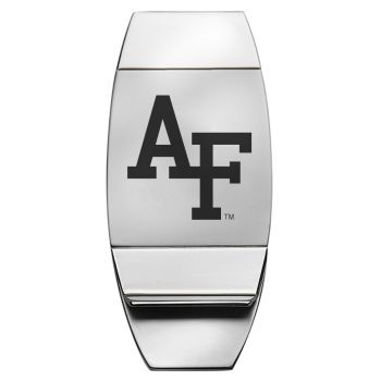 University of Nebraska??Lincoln - Two-Toned Money Clip - Silver