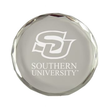 Southern University-Crystal Paper Weight