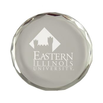 Eastern Illinois University-Crystal Paper Weight