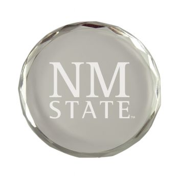 New Mexico State-Crystal Paper Weight