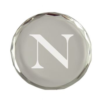 Northeastern University-Crystal Paper Weight