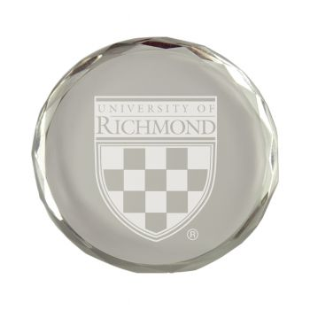 University of Richmond-Crystal Paper Weight