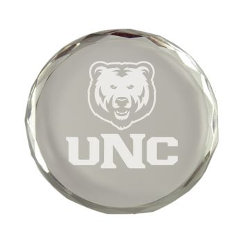 University of Northern Colorado-Crystal Paper Weight