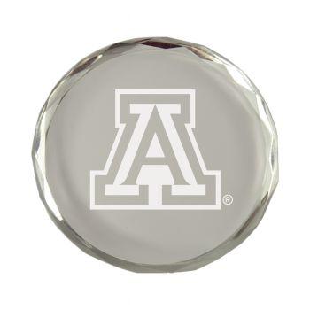 Arizona Wildcats-Crystal Paper Weight
