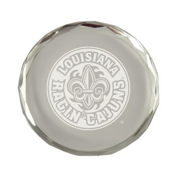 University of Louisiana at Lafayette-Crystal Paper Weight