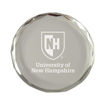 University of New Hampshire-Crystal Paper Weight