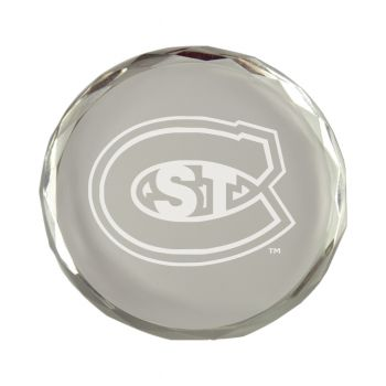St. Cloud State University-Crystal Paper Weight