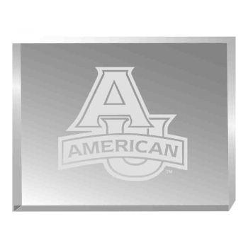 American University-Acrylic Award Desk Piece-Paperweight